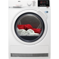 AEG T8DB66580 Independiente Carga frontal 8kg A++ Blanco